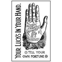 Stamperia High Definition Rubber Stamp -  Alchemy Hand