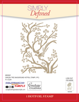 Simply Defined HotFoil Stamps - Beauty Collection, Sakura Tree Background