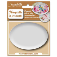 Stamperia Plaquette - Large Oval 1/pk