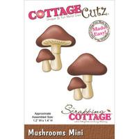 CottageCutz Mini Die - Mushrooms
