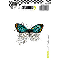 Carabelle Studio Cling Stamp A7 - Butterfly Origami