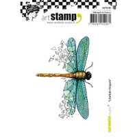 Carabelle Studio Cling Stamp A7 - Dragonfly Origami