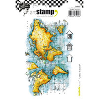 Carabelle Studio Cling Stamp A6 - Around The World