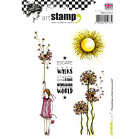 Carabelle Studio Cling Stamp A6 - Revealing A Whole New World