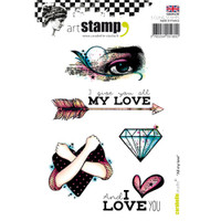 Carabelle Studio Cling Stamp A6 - All My Love
