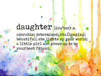 Visible Image Stamps - Daughter Definition