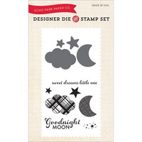 Echo Park Dies and Stamp Set - Goodnight Moon