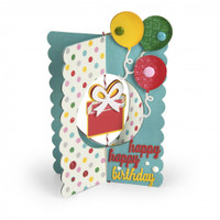 Sizzix Thinlits Die Set 10PK by Lori Whitlock - Card, Gift