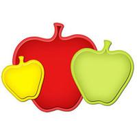 Spellbinders Shapeabilities  - Nested Apples