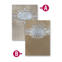 Spellbinders Embossing Folders - Framed Petite Labels