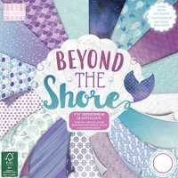 "TrimCraft First Edition Premium Paper Pad 8""X8"" 48/Pkg - Beyond The Shore"