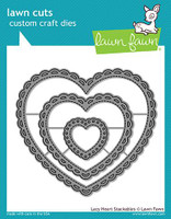 Lawn Fawn Die - Lacy Heart Stackables