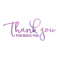 Couture Creations GoPress Foil Hotfoil Stamps, Everyday Sentiments - For Being You
