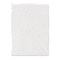 Tonic Studios Craft Perfect Hand Crafted Embossed Cotton Paper A4 - Snowdrop Meadow - 5 Pk