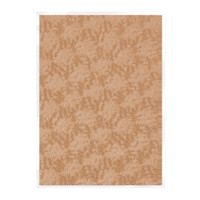 Tonic Studios Craft Perfect Hand Crafted Embossed Cotton Paper A4 - Warm Dahlia - 5 Pk