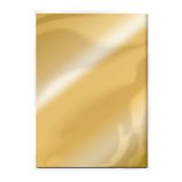 Tonic Studios Craft Perfect Mirror Card High Gloss Card A4 - Polished Gold - 5 Pk