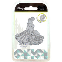 Character World Disney Cinderella Die And Face Stamp Set - Poised Cinderella
