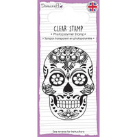 TrimCraft Dovecraft Clear Stamp - Skull