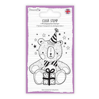 TrimCraft Dovecraft Clear Stamp - Teddy Bear