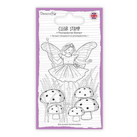 TrimCraft Dovecraft Clear Stamp - Fairy