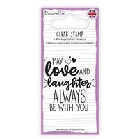 TrimCraft Dovecraft Clear Stamp - Love & Laughter