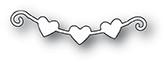 Memory Box PoppyStamps Dies - Little Heart Banner