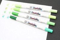 Brushables Duel Tip Markers by Zig 4 Pack  - Greens