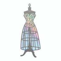 Couture Creations Nouveau Cut & Foil Die - Bodice