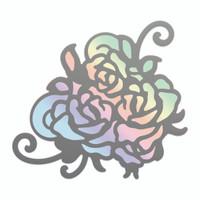 Couture Creations Nouveau Cut & Foil Die - Rosy