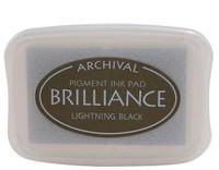 Brilliance Pigment Ink Pad - Lightning Black