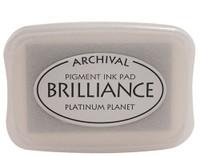 Brilliance Pigment Ink Pad - Platinum Planet