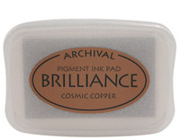 Brilliance Pigment Ink Pad - Cosmic Copper