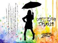 Visible Image Stamps - Sparkle In The Rain