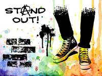 Visible Image Stamps - Teenage Kicks