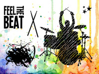 Visible Image Stamps - Feel The Beat