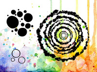 Visible Image Stamps - The Ripple Effect