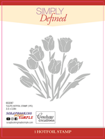 Simply Defined HotFoil Stamps - Tulips