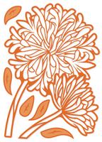 Simply Defined Dies Set - Spring Fling Collection, Alliums in Bloom