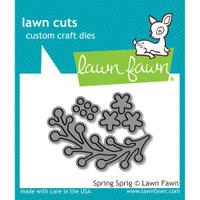 Lawn Fawn Dies - Spring Sprig