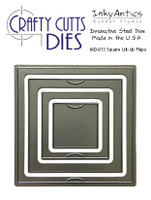 Inky Antics Crafty Cutts Dies - Square Lift-Up Flaps