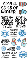 Inky Antics Clear Stamps - Winter Song