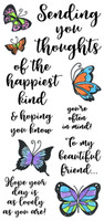 Inky Antics Clear Stamps - Happiest Thoughts