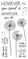 Inky Antics Clear Stamps - Dandelion Birthday