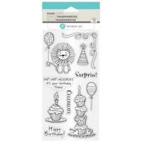 Hampton Art Clear Stamps  - Happy Birthday