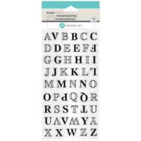 Hampton Art Clear Stamps  - Layer Alphabet