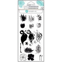 Hampton Art Clear Stamps  - Tropical