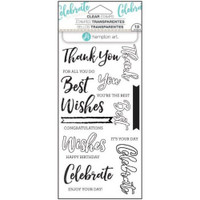 Hampton Art Clear Stamps  - Words