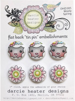 Darcie's Heart & Home Tin Pins - Wooly Spring