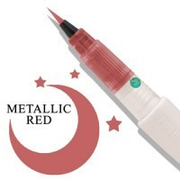 Wink of Luna Brush Tip Marker by Zig - Red