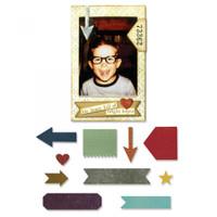 Sizzix Thinlits Die Set 11PK by Tim Holtz - Pocket Frame